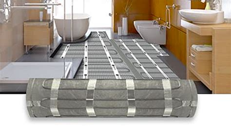 Bathroom Floor Heating Mats by Electric Heated Tile Flooring Systems Warmlyyours
