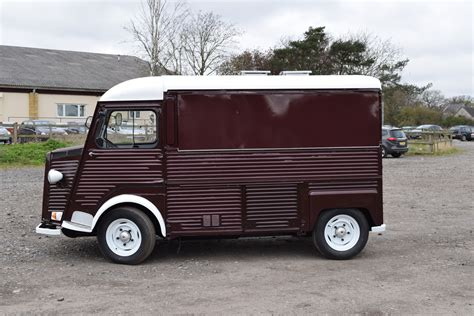 Citroen H by Vintage Food Truck Citroen Hy Vans