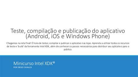 tutorialspoint cordova minicurso intel xdk
