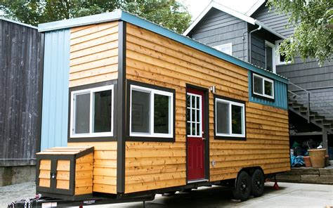 tiny houses on wheels shannon s custom tiny home on wheels