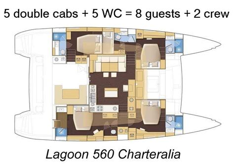 catamaran layout plans luxury lagoon 560 mega catamaran ibiza charteralia boat