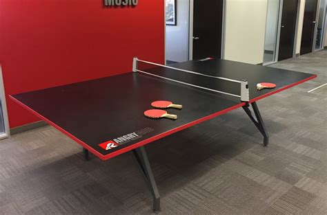 Table Tennis Meeting Table Black And Architectural Contemporary Table Ambience Dor 233
