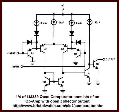 integrated circuit comparator voltage comparator circuits