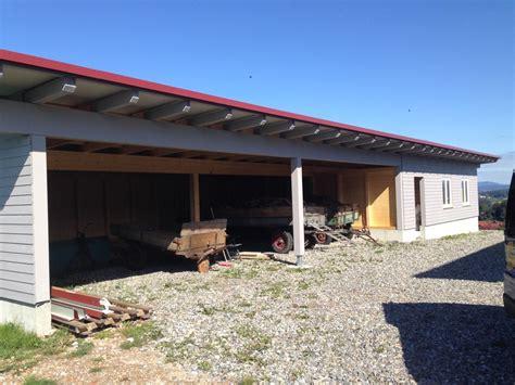garage mit carport und abstellraum carports und garagen wandverkleidungen goldbrunner wangen