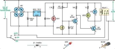 schematic photocell sensor get free image about wiring