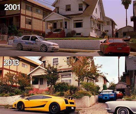 where is the fast and furious house fast and furious in house 2001 vs 2013 movie hq by gt4tube on deviantart