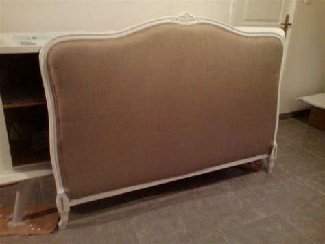 comment refaire un canapé en tissu tuto tapisser une t 234 te de lit diy relooking mobilier