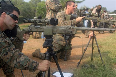 quantico sniper first to receive marine corps scout sniper of the