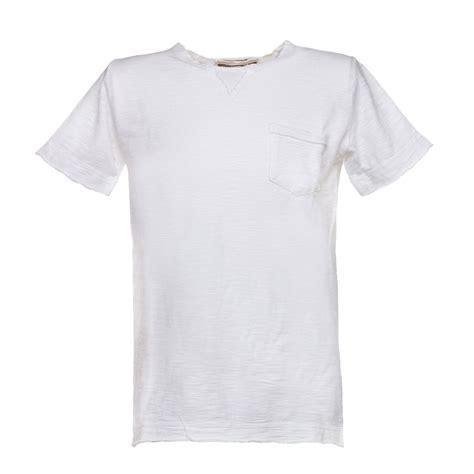 T Shirt Bianica officina51 t shirt con taschino annameglio