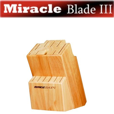 world class knives miracle blade world class series knife block as seen on