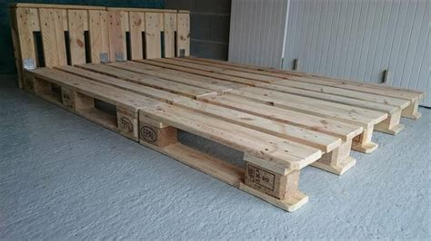 pallet bed platform diy pallet platform bed timeless to install