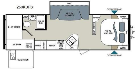 Travel Trailer Floor Plans With Bunk Beds by Rv Floor Plans With Bunk Beds Search This