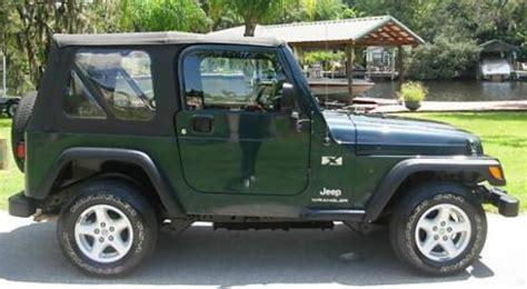 Stock Jeep Wrangler 2005 Jeep Wrangler X Trim Overview 4 0l I6 Specs Stock
