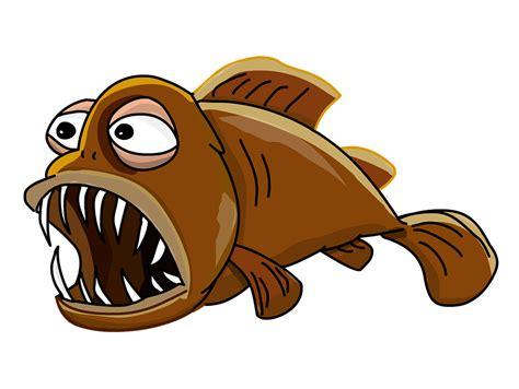 clipart pesci free illustration lantern fish fish jaw big