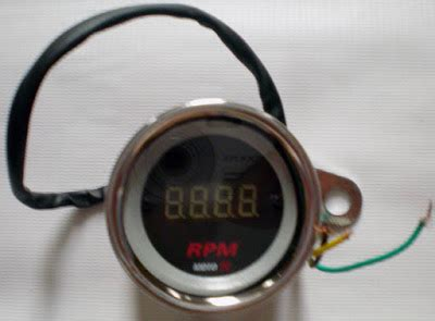 Rpm Digital Variasi para maniak otomotif tachometer rpm pengaruhi mesinmu