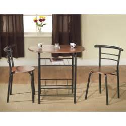 Small Kitchen Sets Furniture Bistro Table Set Dining 3 2 Chairs Kitchen Wood Small Space Dinette Coffee Ebay