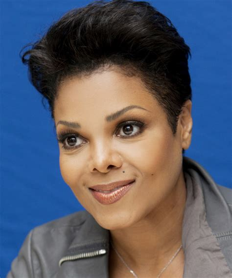 pictures of janet jackson with curly short hair short