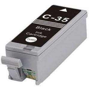 Canon 35 Ink Cartridge Black pgi 35 ink cartridge canon compatible black