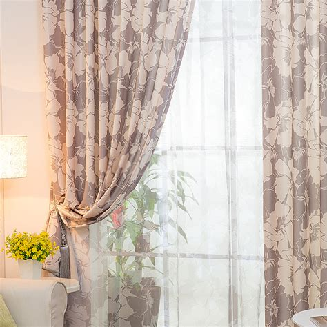curtains patterns spectacular country home curtains with grey pattern