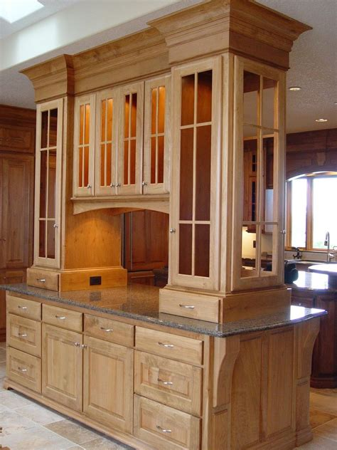 western style kitchen cabinets hand made display cabinets western maple by afc inc