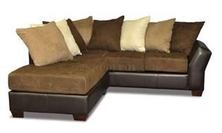 Sectional Sofa Pillows Scatter Back Modern Sectional Sofa W Oversized Back Pillows