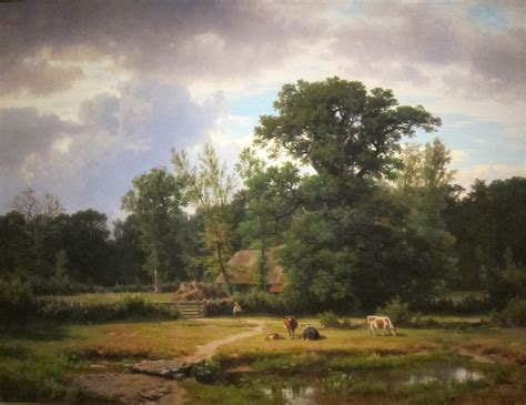 Landscape Artists Wiki File Landscape In Westphalia On Canvas Painting By