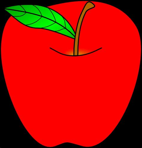 apple drawing clipart clipartxtras red apple clip art at clker vector clip art online