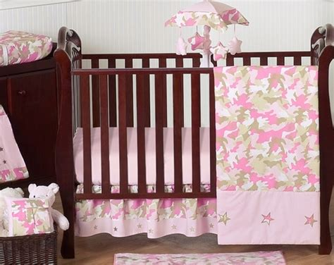 pink camo baby bedding khaki and pink camo baby bedding 11pc crib set by sweet jojo designs only 43 99