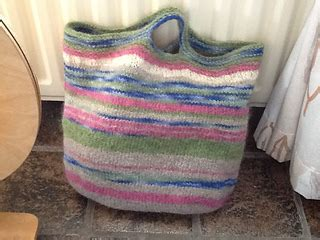 Tas Handbag Anello Big Go Motif 5 ravelry basic bags felted tote with built in handles big