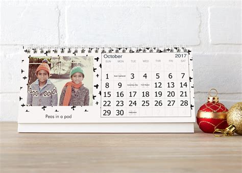 Custom Photo Calendars Personalized Photo Calendars 2017 Vistaprint