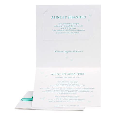 Hochzeitseinladung Mint by Hochzeitseinladung In Mint Mit Schleife Weddix De