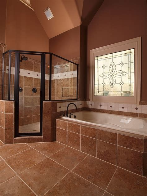 how big should a bathroom be big shower and big bath tub a girl can dream