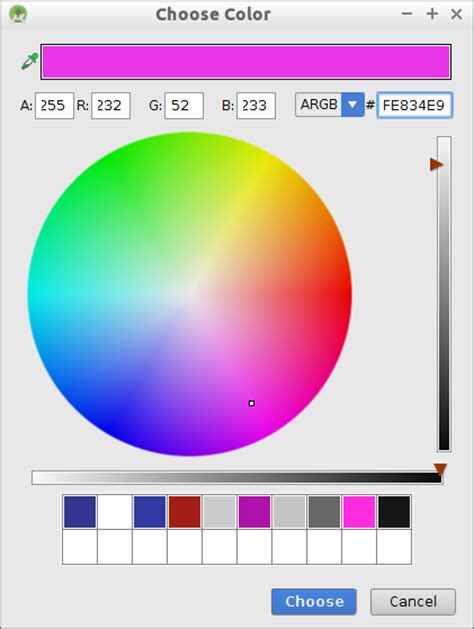 android studio layout color android er android studio color chooser when edit color