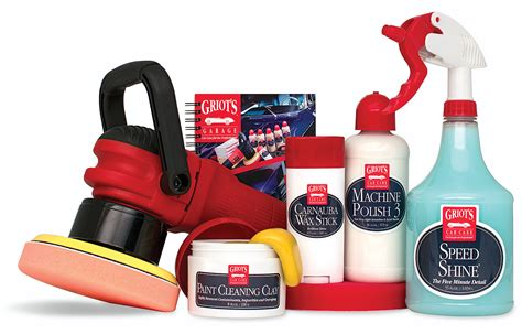 griots garage machine carnauba wax kit  shipping