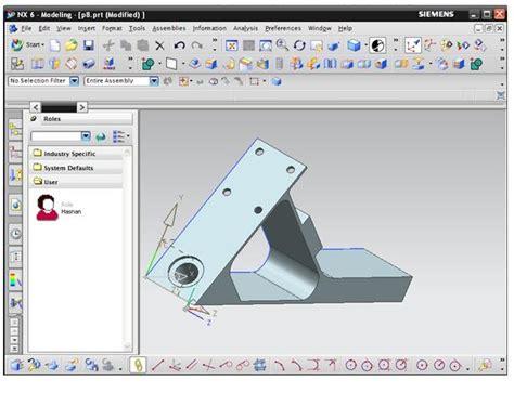 video tutorial unigraphics activate full view in unigraphics nx 6 unigraphics