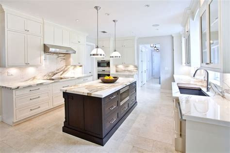 Kitchen Backsplash For White Cabinets 25 beautiful transitional kitchen designs pictures
