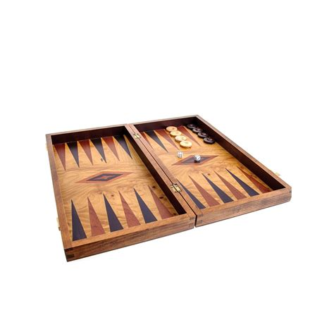 Backgammon Handmade - olive wood backgammon handmade set large size