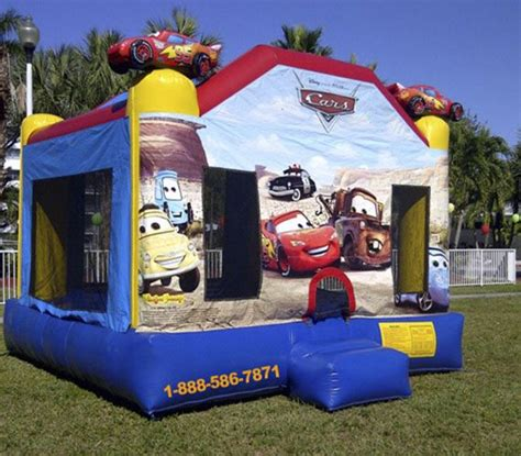 cars bounce house cars bounce house my florida party rental
