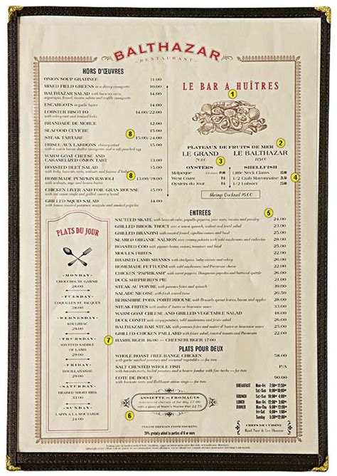 layout of a restaurant menu the secrets behind menu design signal v noise
