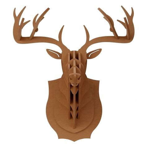 1000 images about trophy head mount 3d puzzles on deer elk stag head antler 3d puzzle diy wood jigsaw animal