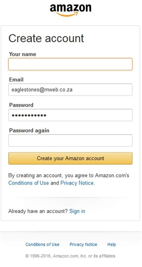 Can I Open An Amazon Account With A Gift Card - amazon login made easy sign in details for amazon