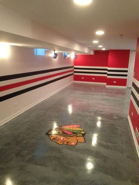 chicago blackhawks bedroom decor best 25 sports theme basement ideas on pinterest man