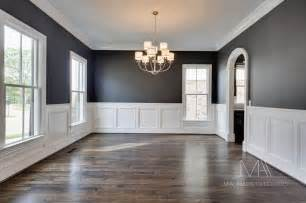 Dining Room With Grey Floor Ooooo Pretty Gray On Top White On Bottom The
