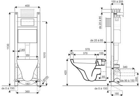 Hauteur Wc Suspendu 4722 by Hauteur Wc Suspendu Pmr Wc Schema Stunning Dimensions Wc