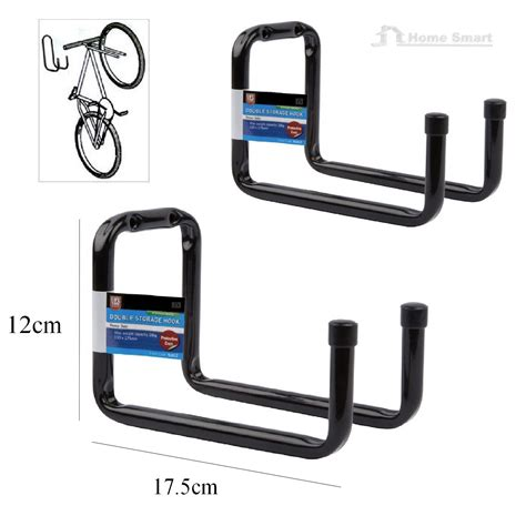 Garage Hooks Storage Hooks Wall Mounted Ladder Bike Garage Shed Utility
