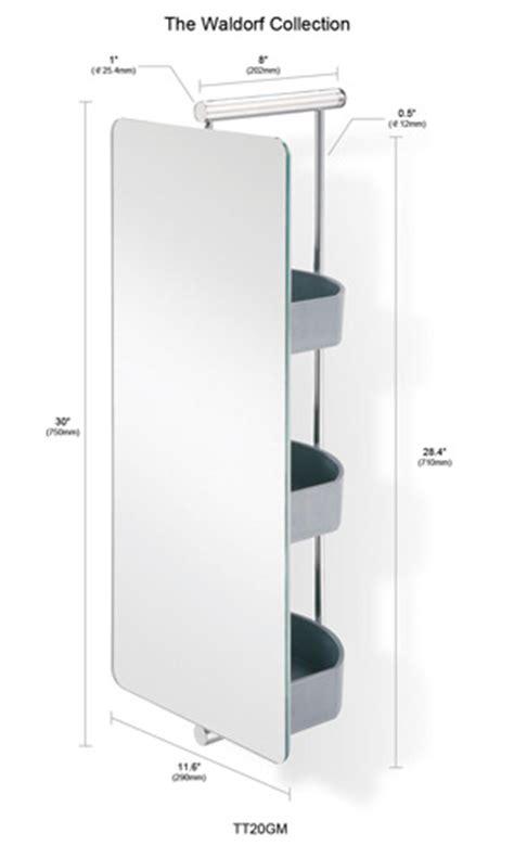 swivel mirror bathroom bathroom mirror waldorf polished s s swivel mirror with