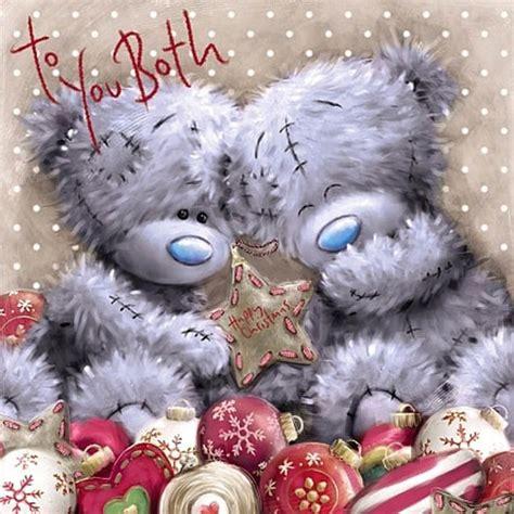 bear christmas card xvs