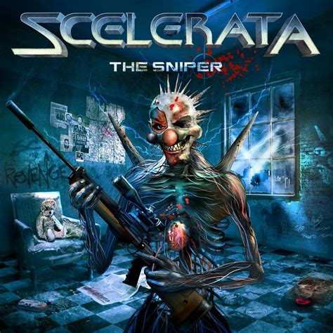 Metal Album Cover scelerata the sniper heavy metal album covers nsfw