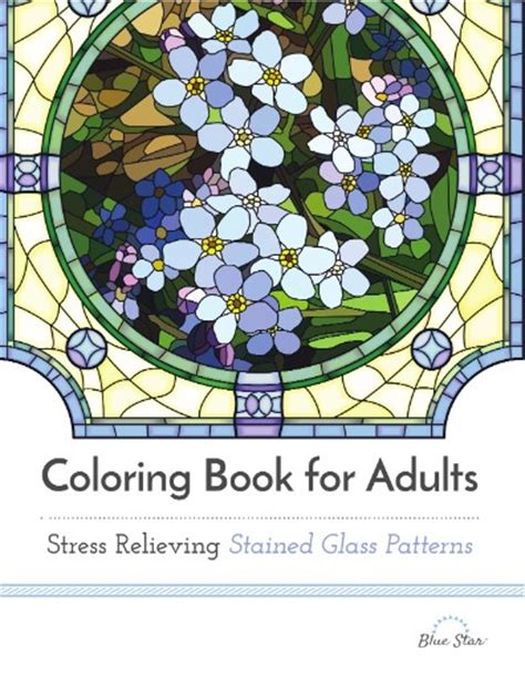 coloring book magazine coloring book for adults stress relieving stained glass