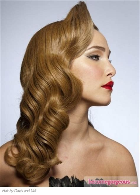 Wedding Hairstyles Vintage Wave by Pictures Hairstyles Vintage Waves Hairstyle